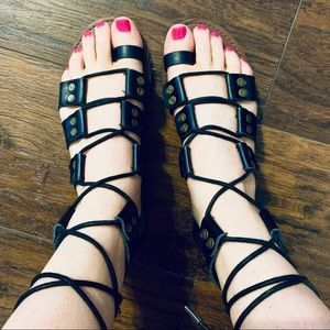 Free People Shoes - Free People Tie Up Sandals